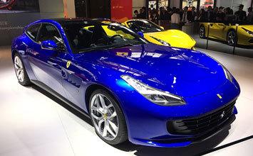 2016广州车展:法拉利GTC4Lusso T发布