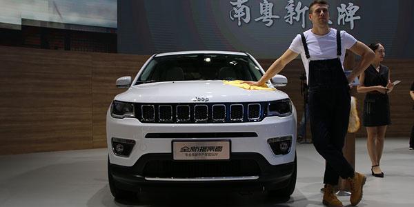 天生的对手 广州车展指南者对比Tiguan