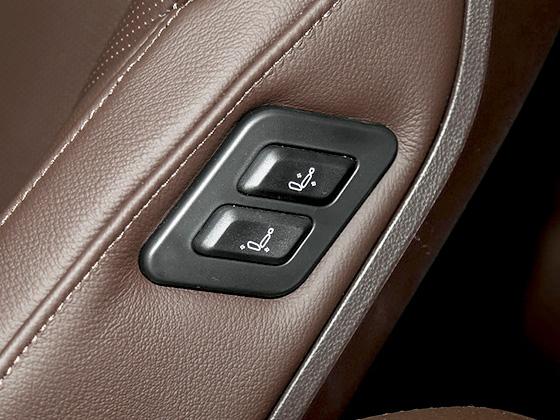 副驾驶座椅后排调节