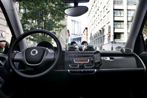 城市之光 纽约试smart fortwo e-Drive