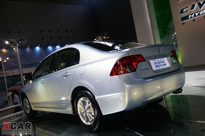 东风本田混合动力思域-2007广州车展高清图片