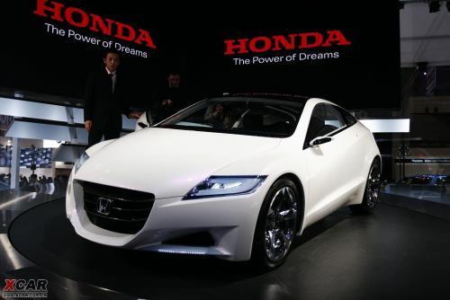 本田混合动力车型CR Z本月将在日本发布 兴义之窗汽车频道 -本田混合高清图片