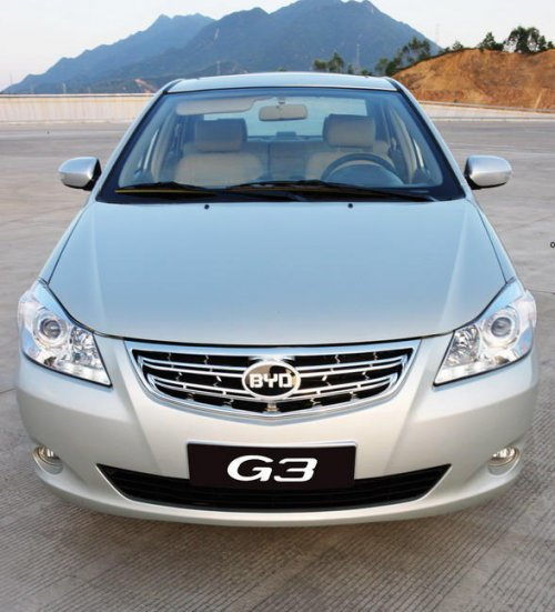 比亚迪高端中级车G3