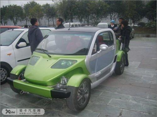 四川野马汽车M72 新国产混合动力概念车高清图片