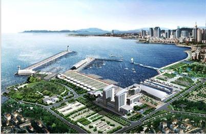 奥运会青岛分赛场 青岛奥林匹克帆船中心