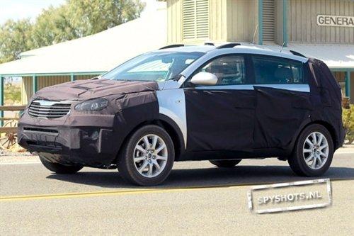 新一代起亚SUV狮跑谍照-竟用Coupe外形 第3代新起亚狮跑谍照曝光高清图片