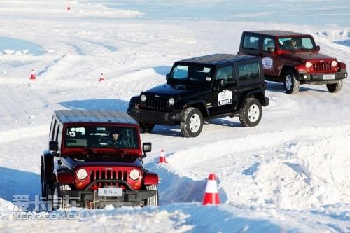 Jeep 2010冰雪全系体验 & 冬季越野手册