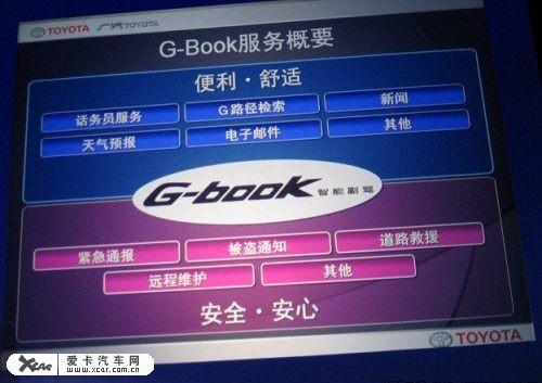 Gbook 凯美瑞