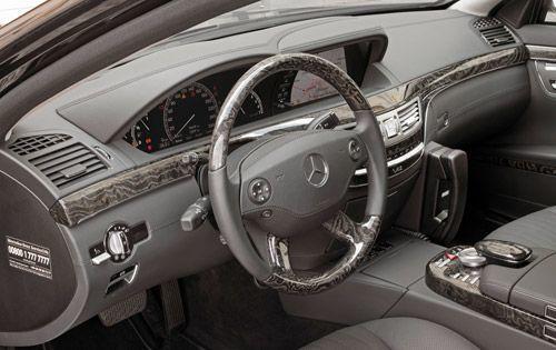 私人装甲车 2010款奔驰S600防弹车