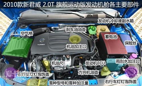 0t旗舰运动版用车指南; 发动机舱图解; 2010款新君威图片大全下载