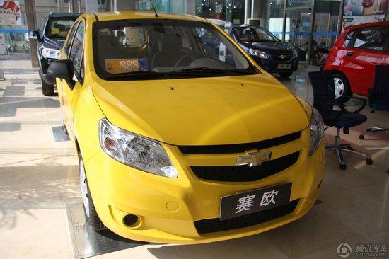 2010款 雪佛兰新赛欧两厢 1.2 SE 手动理想版 到店实拍