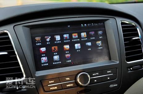 家轿 盘点上汽荣威350科技配置高清图片
