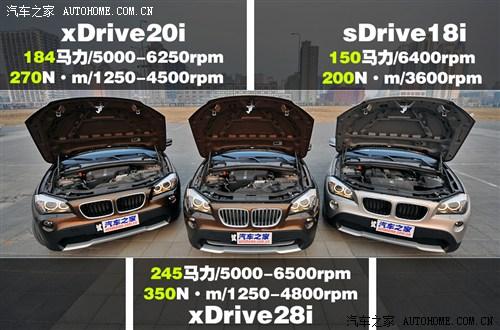 宝马 华晨宝马 宝马x1 2012款 xdrive20i豪华型