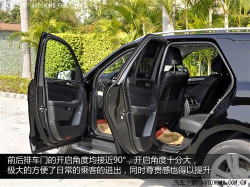 奔驰 奔驰(进口) 奔驰m级 2012款 ml 350