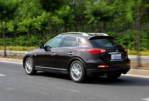 我不是SUV!专业评测英菲尼迪EX25测试篇