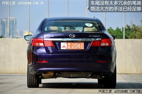 广汽 广汽集团 传祺 2011款 2.0l at尊贵版