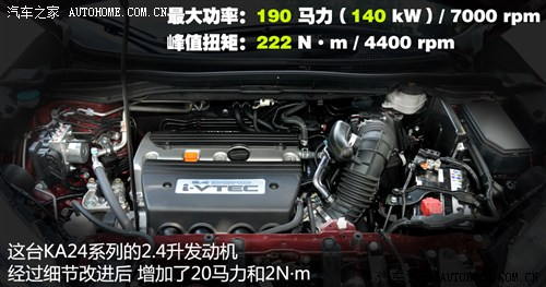 本田 东风本田 本田cr-v 2012款 2.4四驱尊贵导航版