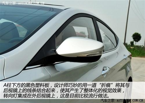 现代 北京现代 朗动 2012款 基本型