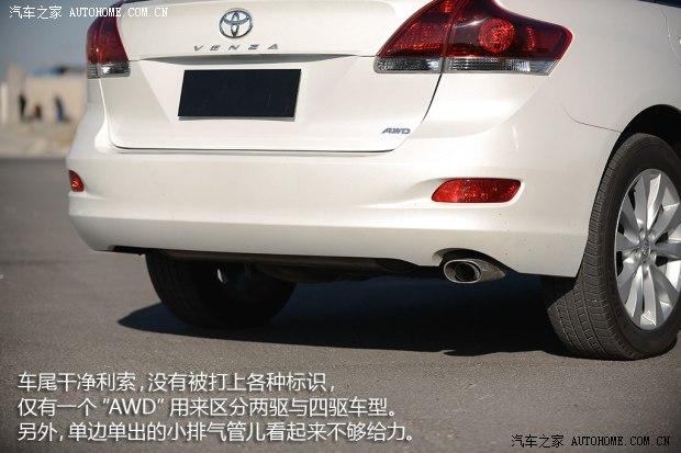 丰田丰田(进口)Venza威飒2013款 2.7L 四驱豪华版