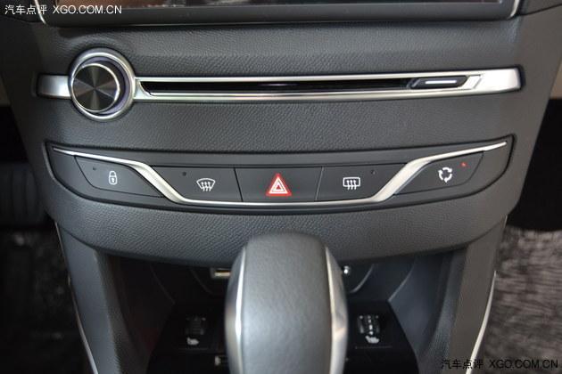 标致408汽车空调标志图解