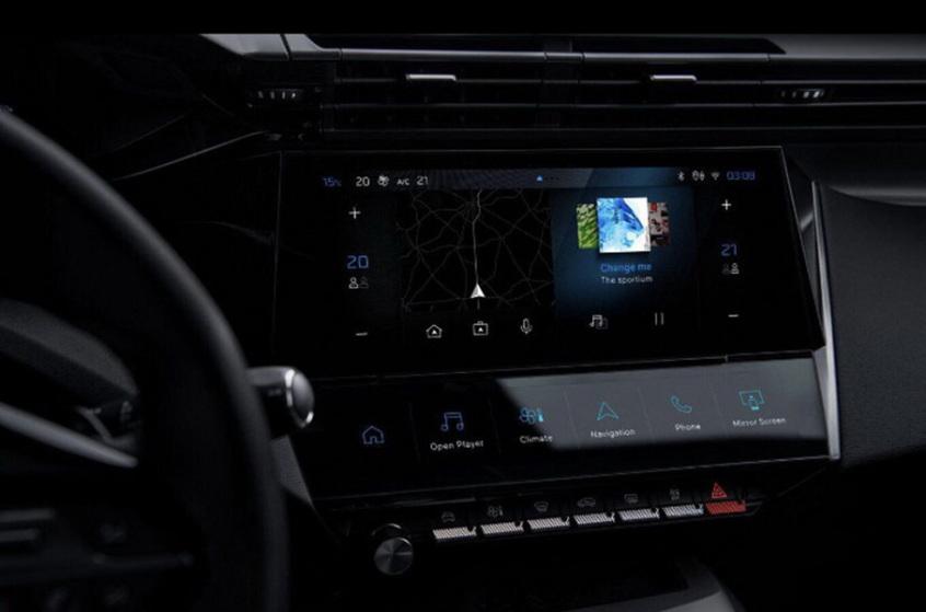 全新一代标致308官图曝光 将于5月投产