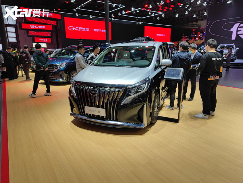 2021上海车展:广汽传祺M8四座版亮相