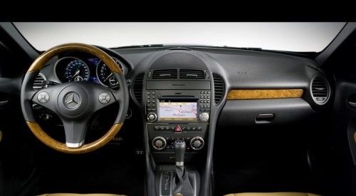 奔驰slk 350高清图片