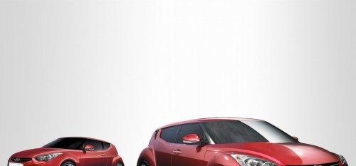 北美车展首发 现代轿跑veloster将亮相高清图片