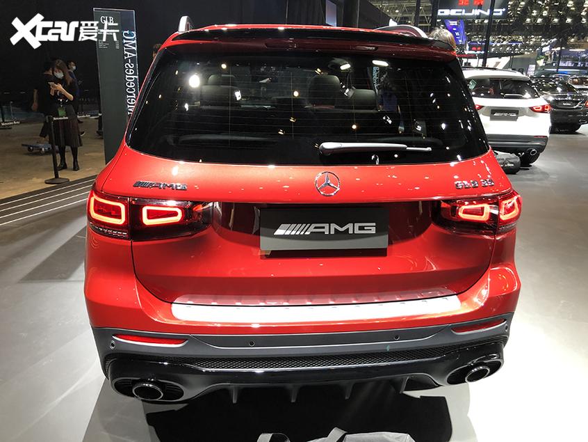 北京车展:奔驰AMG GLB 35正式国内亮相