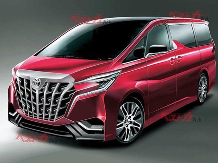 全新丰田埃尔法2022年4月发布 增运动版