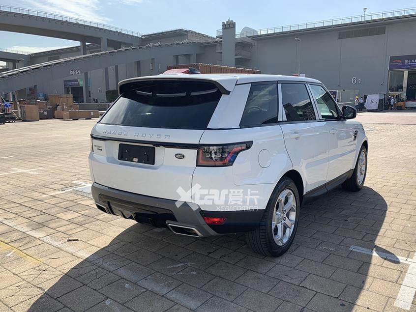 广州车展探馆:2021款路虎揽胜运动版