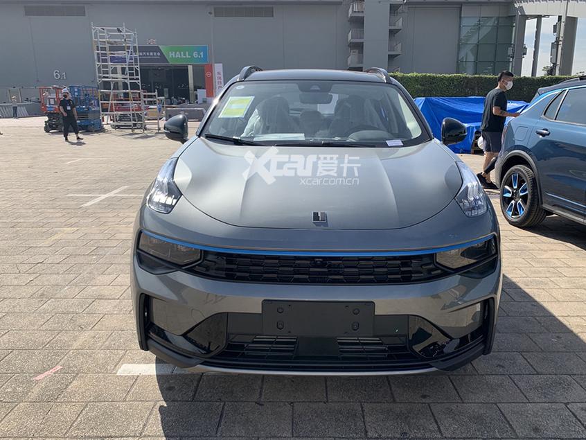 广州车展探馆:新款领克01家族实车曝光