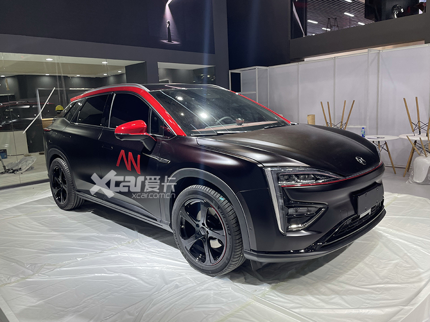 广州车展探馆:新款广汽蔚来007运动版-爱卡汽车