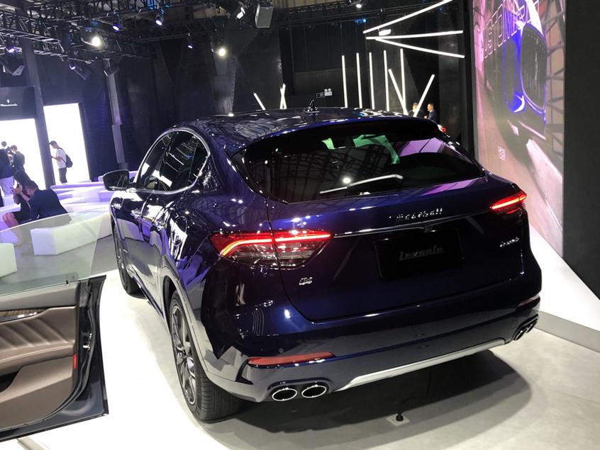 2020广州车展 新款玛莎拉蒂Levante上市