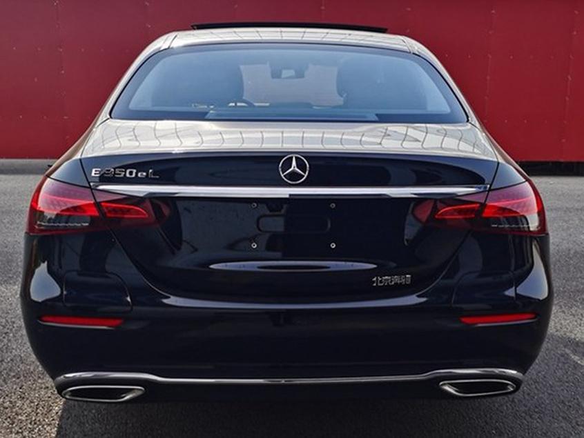 新款奔驰E级插混版申报图 将2021年上市