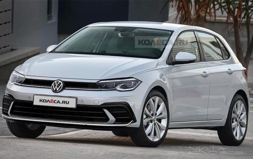 新款大众Polo假想图曝光 年内正式发布-爱卡汽车
