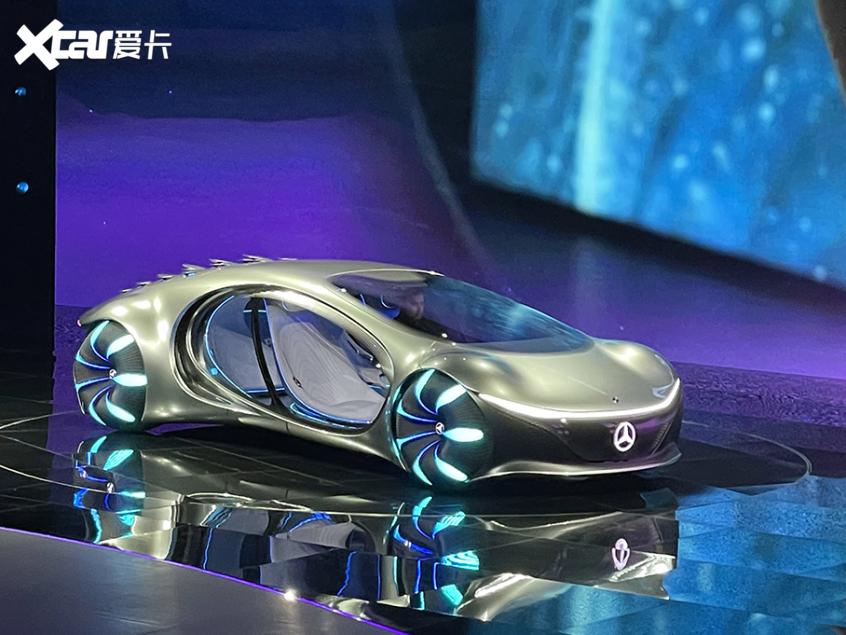 上海车展:奔驰VISION AVTR概念车首发